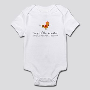 """Year of the Rooster"" [1981] Infant Bodysuit"